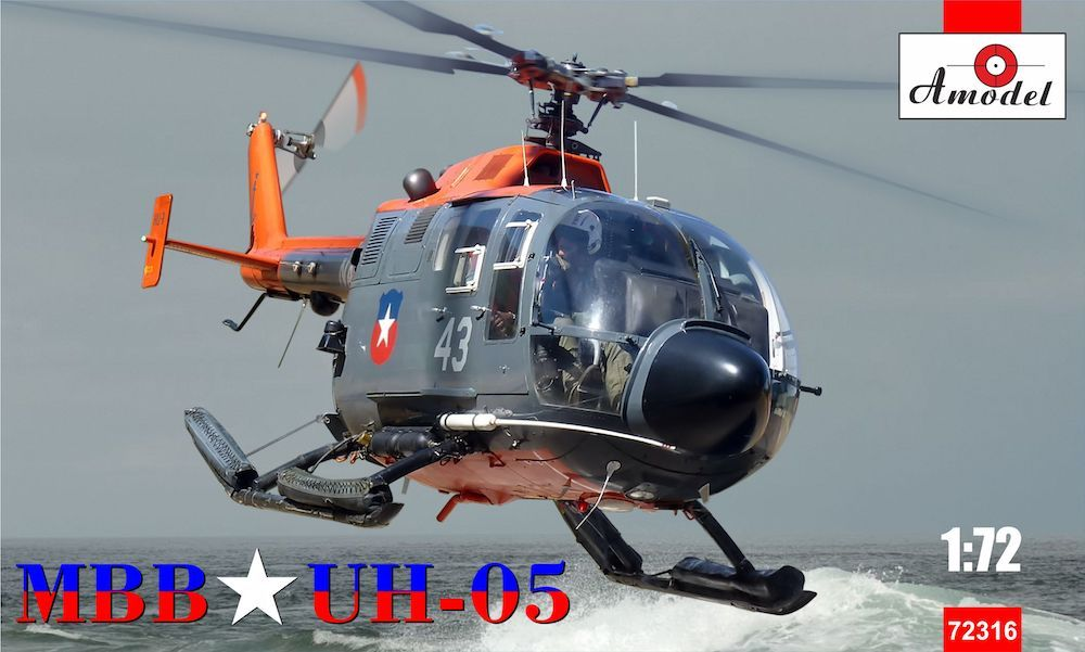 Amodel 1/72 UH-05 (Bo-105 Chilean Air Force) # 72316