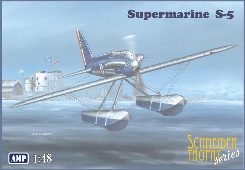 AMP 1/48 Supermarine S-5 Float Plane 'Schneider Trophy Series' # 48009