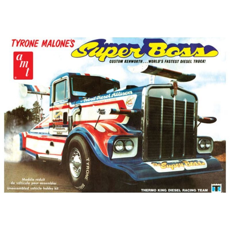 AMT 1/25 Tyrone Malone Kenworth Super Boss Drag Truck # 930