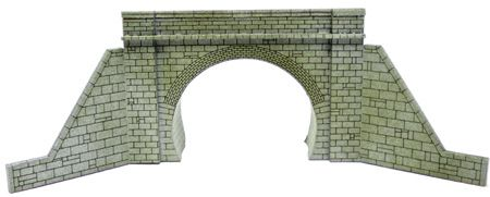 Ancorton N Gauge Tunnel Mouth Kit Double Track and Circular Walls (NTM3) # 95627