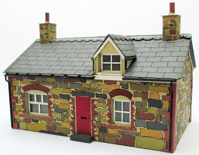 Ancorton OO Stone Built Cottage (with dormer window) (OOH2) # 95866