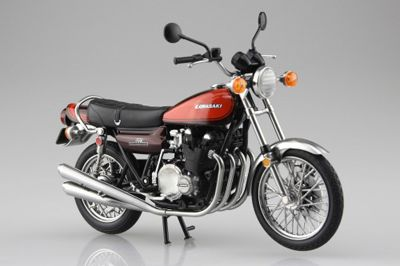 Aoshima 1/12 Kawasaki 750RS (Z2) Fire Ball Diecast Model # 10462