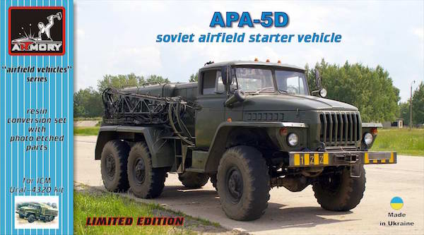 Armory 1/72 APA-5D Soviet Airfield Starter Vehicle Resin Conversion Set # 72302