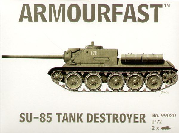 Armourfast 1/72 Su-85 Tank Destroyer # 99020