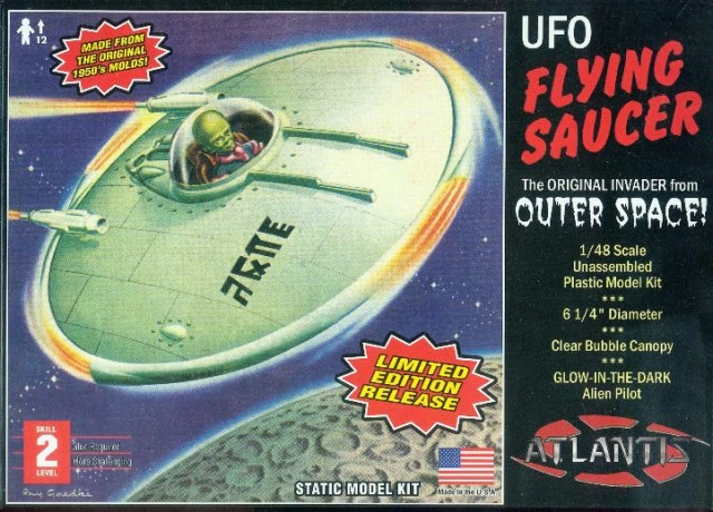 Atlantis 1/48 UFO Flying Saucer # AMC1003