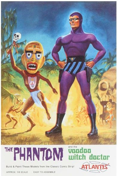 Atlantis 1/8 The Phantom and the VooDoo Witch Doctor # AMC3004