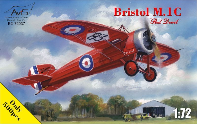 "Avis 1/72 Bristol M.1C ""Red Devil"" # BX72037"