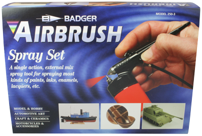 Badger Airbrush Spray Set # 250-3