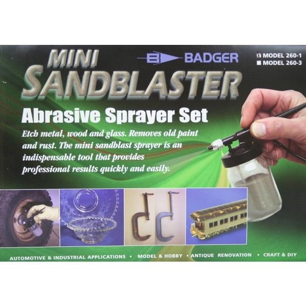 Badger Mini Sandblaster Abrasive Sprayer Set # 260-1