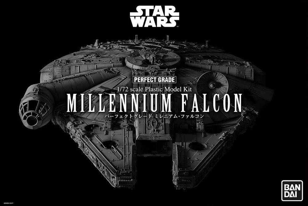 "Bandai 1/72 Star Wars Millennium Falcon ""Perfect Grade"" # 01206"