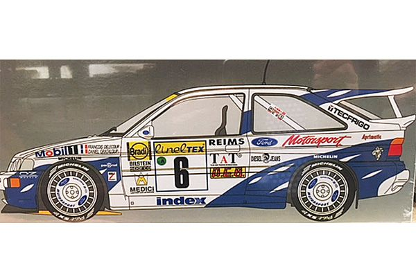 Belkits 1/24 Ford Escort RS Cosworth  # 24144