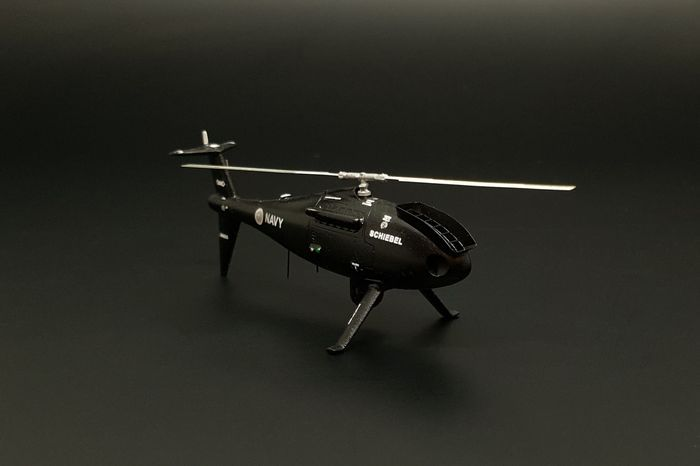 Brengun 1//32 S-100 Camcopter Unmanned Helicopter Resin Construction # S32038