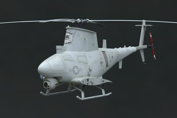Brengun 1/48 MQ-8B Fire Scout UAV Plane Resin Construction # S48010
