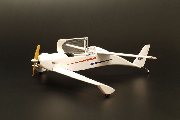 Brengun 1/48 Rutan Quickie Resin Construction Kit # S48012