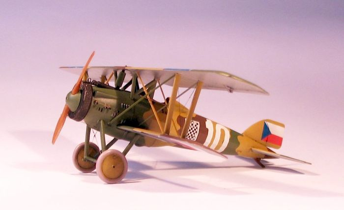 Brengun 1/72 Letov S-4 Czech Biplane Fighter Resin Construction # S72014