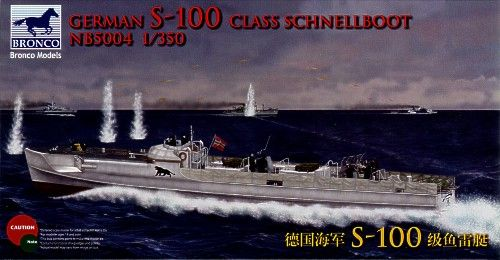 Bronco 1/350 German S-100 Class Schnellboot # NB5004