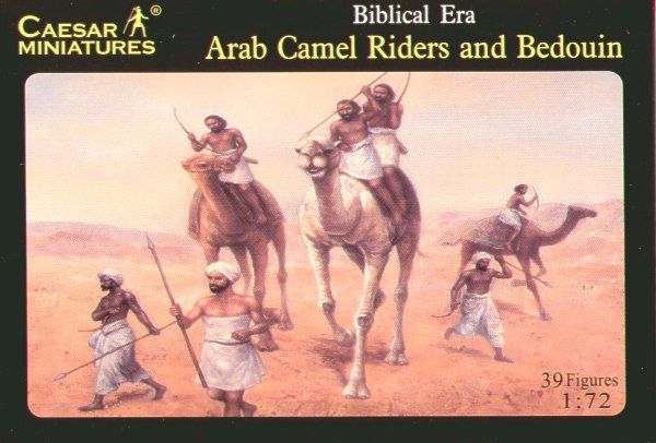 Caesar Miniatures 1/72 Arab Camel Riders and Bedouin Biblical Era # 023