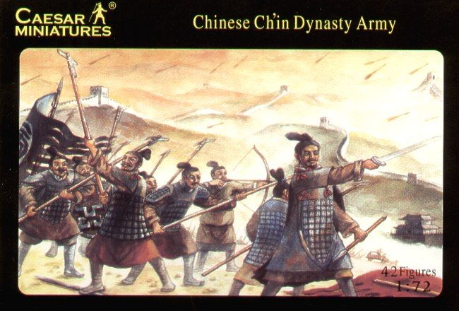 Caesar Miniatures 1/72 Chinese Ch'in Dynasty Army # 004