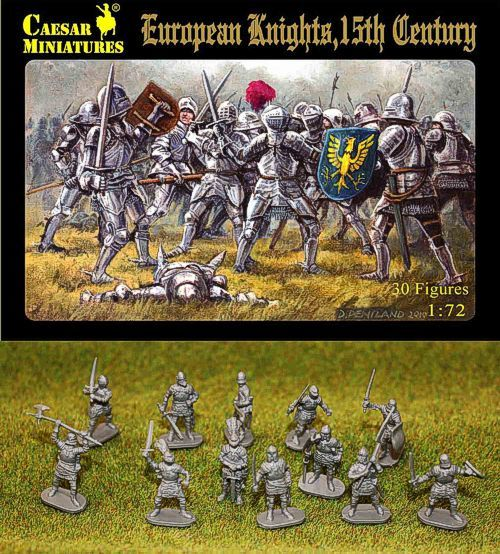 Caesar Miniatures 1/72 European Knights 15th Century # 091