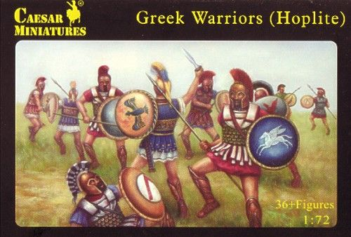 Caesar Miniatures 1/72 Greek Warriors (Hoplite) # 065