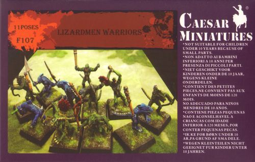 Caesar Miniatures 1/72 Lizardmen Warriors # F107