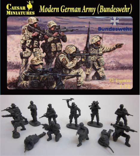 Caesar Miniatures 1/72 Modern German Army (Bundeswehr) # 062