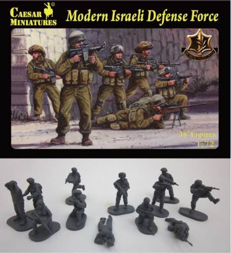 Caesar Miniatures 1/72 Modern Israeli Defence Force # 057