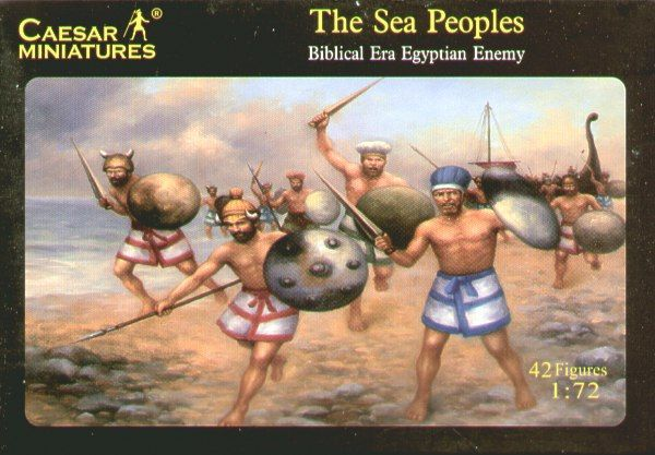 Caesar Miniatures 1/72 The Sea Peoples # 048
