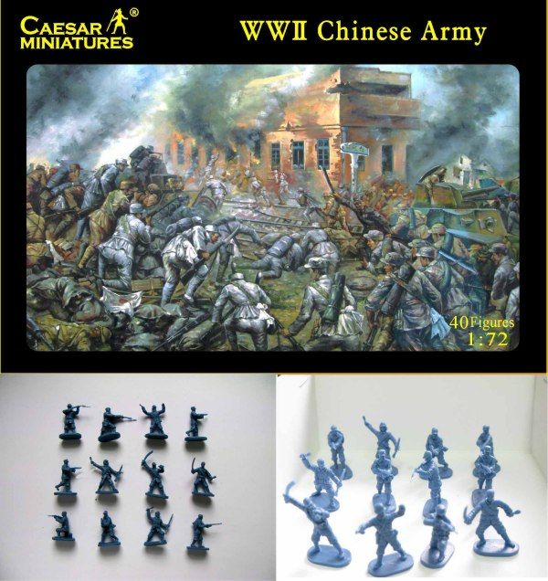 Caesar Miniatures 1/72 WWII Chinese Army # 036