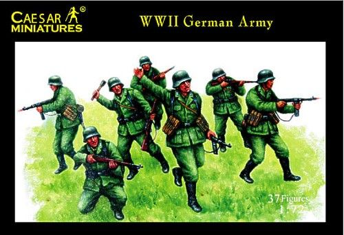 Caesar Miniatures 1/72 WWII German Army # 037