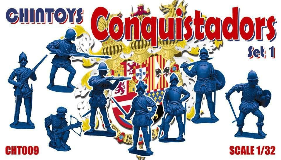 Chintoys 1/32 Conquistadors Set 1 # 009