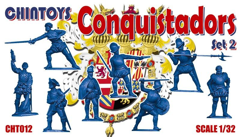 Chintoys 1/32 Conquistadors Set 2 # 012