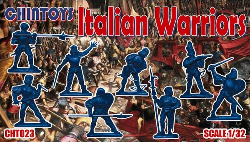 Chintoys 1/32 Italian Warriors # 023