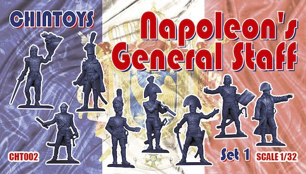 Chintoys 1/32 Napoleon's General Staff Set 1 # 002