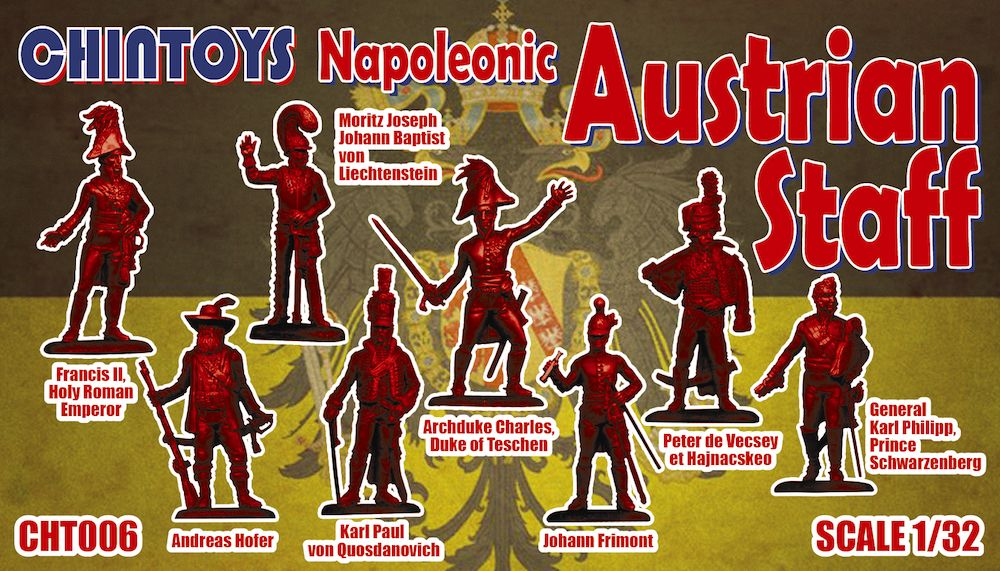 Chintoys 1/32 Napoleonic Austrian Staff # 006