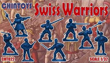 Chintoys 1/32 Swiss Warriors # 022