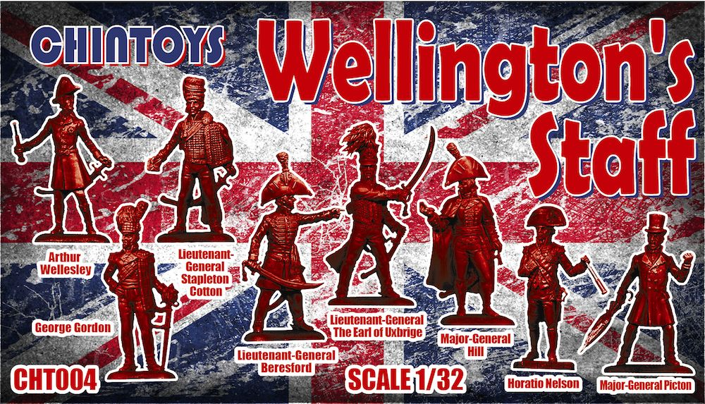 Chintoys 1/32 Wellington's Staff # 004