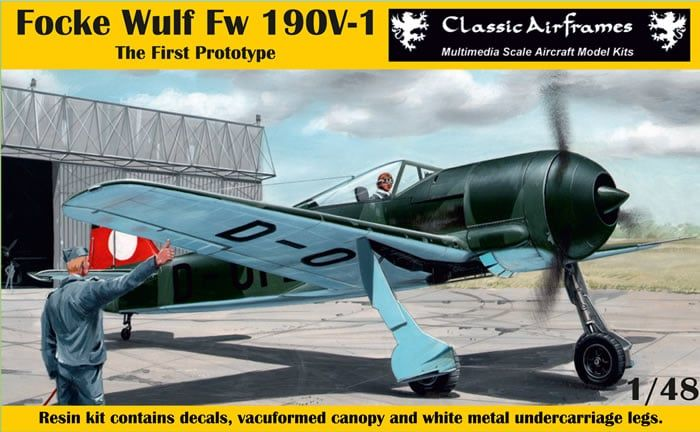 Classic Airframes 1/48 Focke-Wulf Fw-190V-1 'The First Prototype' # R8-009