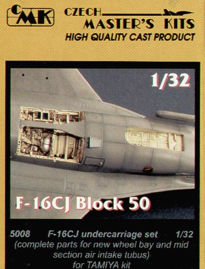 CMK 1/32 Lockheed Martin F-16CJ Block 50 Fighting Falcon Undercarriage Set # 5008