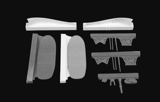 CMK 1/48 Bristol Blenheim Mk.II 'Finnish AF' Retractable Ski Undercarriage # 4384