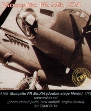 CMK 1/48 Mosquito PR Mk.XVI twin stage Merlin engine # 4108