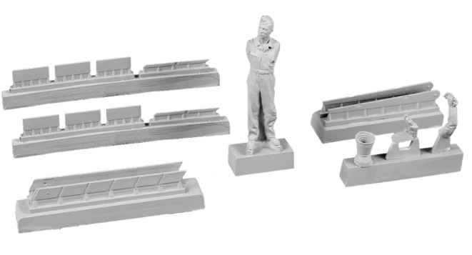 CMK 1/48 Siebel Si-204/Aero C-3 Airman (Cleaning Canopy Glazing) # F48358