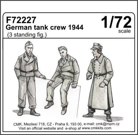 CMK 1/72 German Tank Crew 1944 # F72227