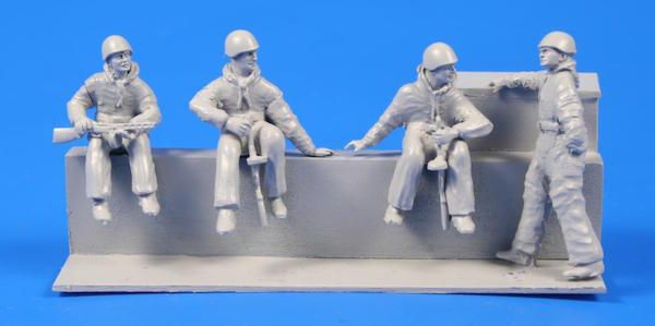 CMK 1/72 Soviet Tank Desant Troops WWII for T-34 & other tanks # F72288