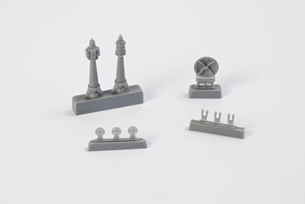 CMK 1/72 Type IXC Exterior Set Part 2 # N7221