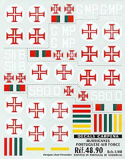 Colorado Decals 1/48 Hawker Hurricane Mk.IIc. Portuguese AF # 48