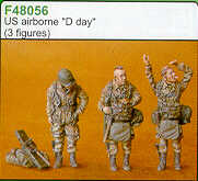 Czech Master 1/48 US Airborne D Day x 3 # F48056