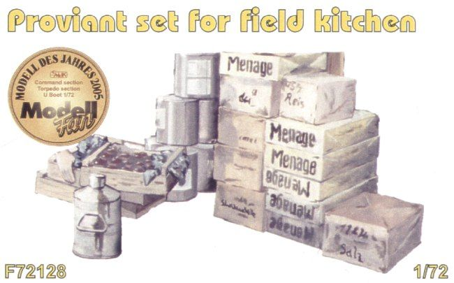 Czech Master 1/72 Field Kitchen provisions set # F72128