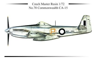 Czech Master Resin 1/72 Commonwealth CA-15 # 5070