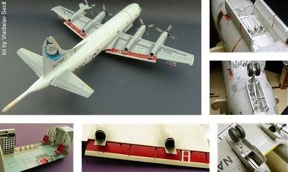Czech Master Resin 1/72 Lockheed P-3C Orion Interior & Exterior Detail Set # DS03